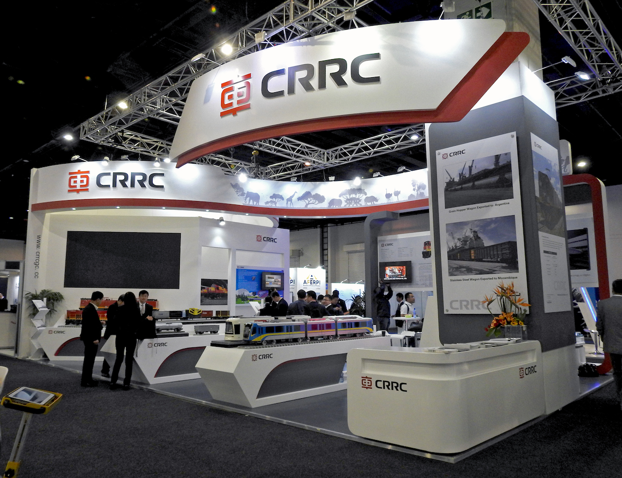 CRRC Stand @Africa Rail