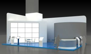 Exhibition Stand Kiosk Interior Exterior