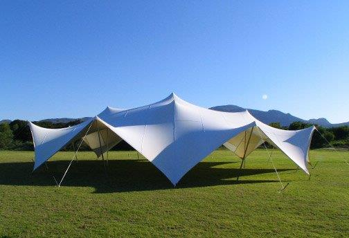 marquee tent as part of event infrastrcuture