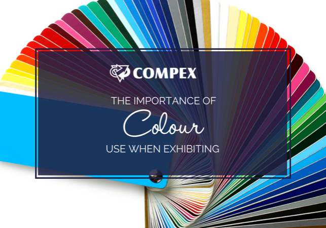 the importance of colour in expo stand design